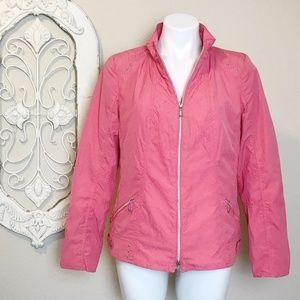Bonita   Lightweight Pink Zip Jacket M